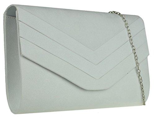Material Handbags Girly Cartera Blanco Mujer Mano Para De Sintético xzwwcdaITq
