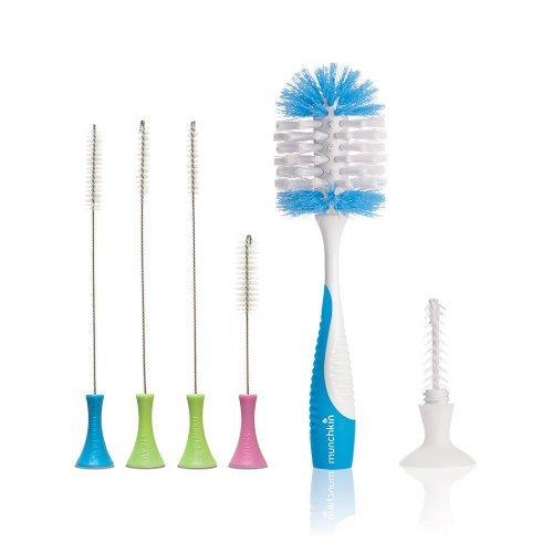 Munchkin Cleaning Brush Set with Deluxe Bottle Brush ()