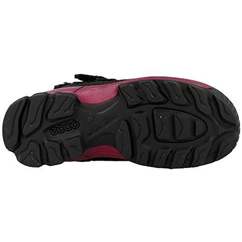 Ecco - Biom Hike - 70301258139 - Color: Negro-Rojo burdeos - Size: 32.0