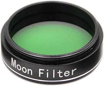 Starboosa 1.25 Inch Moon Filter Aluminum Frame Light Pollution Filter for Telescope Eyepieces