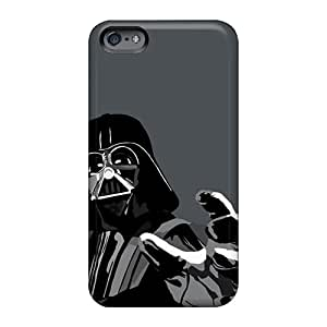 Shockproof Hard Phone Case For Apple Iphone 6 (LFj607XMTa) Provide Private Custom Colorful Darth Vader Vector Series