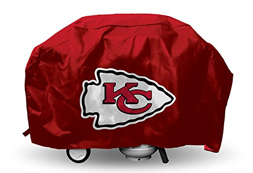 City Cover - Rico Industries NFL Kansas City Chiefs Vinyl Padded Deluxe Grill Cover