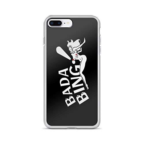 iPhone 7 Plus/iPhone 8 Plus Case Clear Anti-Scratch Bada Bing!, aguvagu Motivational Cover Phone Cases for iPhone 7 Plus iPhone 8 Plus