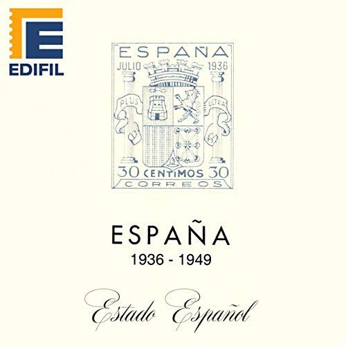 EDIFIL Juegos Hojas Álbum de Sellos España. Estado Español ...