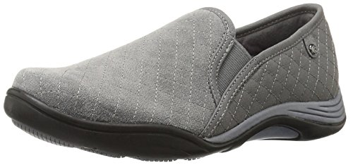 Grasshoppers Women Clara Slip on Fashion Sneaker Steel Grey