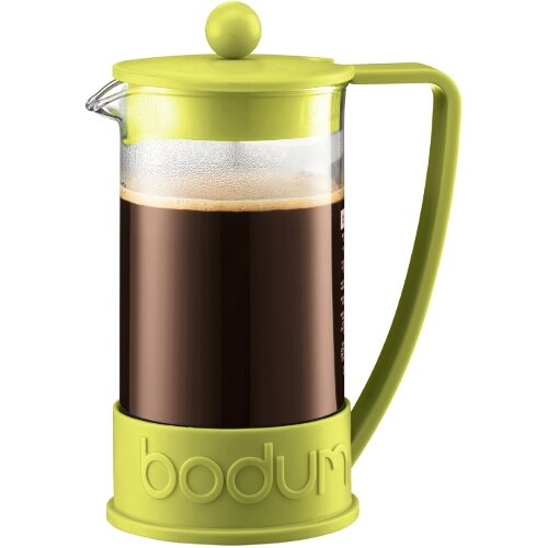 Bodum New Brazil 8-Cup French Press Coffee Maker, 34-Ounce, Green by Bodum