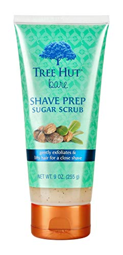 (Tree Hut bare Shave Prep Sugar Scrub, 9oz, Essentials for Soft, Smooth, Bare Skin)