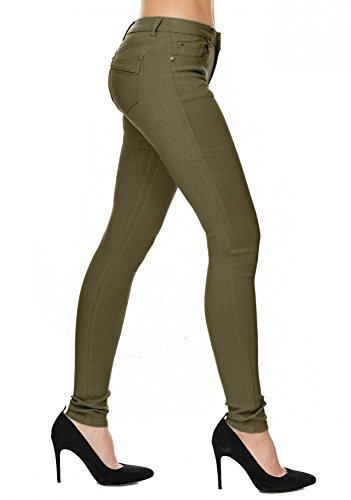 Oliva Hosen Tubi Treggings Skinny Donna Hipsters Arizonashopping Tubo Jeans D1701 xq0dwzxnHA