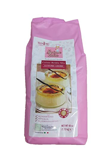 Madame Loulou Creme Brulee Mix 60+ servings (certified gluten free) 1.1kg (40oz)