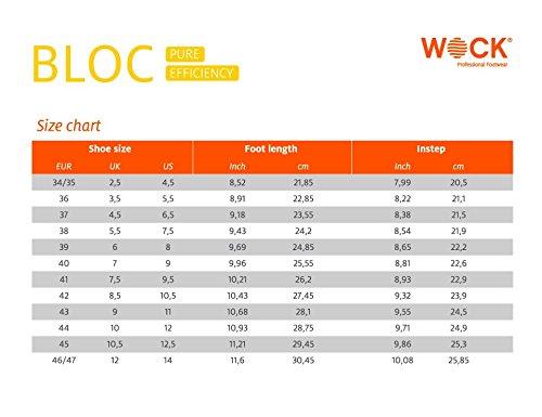 Wock Antiscivolo Sterilizzabile Dell'impatto Bianco Unisex Bloc Professionali Aperto Lavabilità Calzature Assorbimento Traspirante gXwFrgq7