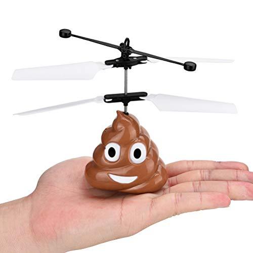 Daxoon Juguetes voladores para niños con Divertido Caca Emoji ...