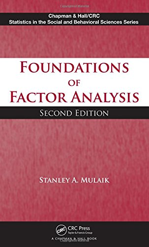 Foundations of Factor Analysis, Second Edition (Chapman & Hall/CRC Statistics in the Social and Behavioral Sciences)