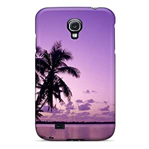 High-quality Durability Case For Galaxy S4(purple Sunset)