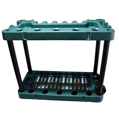 KCT Garden Tool Rack Storage Trolley with Wheels 5060345216950