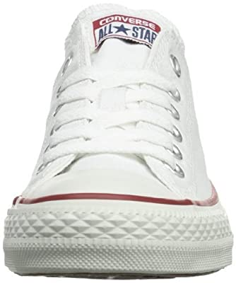 Converse Unisex Chuck Taylor All Star Low Basketball Shoe (15 B(M) US Women/13 D(M) US Men, Optical White)