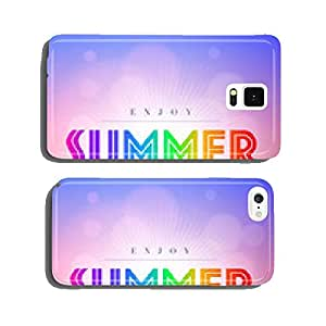 Summer Time cell phone cover case Samsung S6
