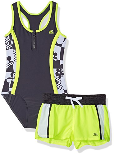 ZeroXposur Girls Pop Swimsuit Short