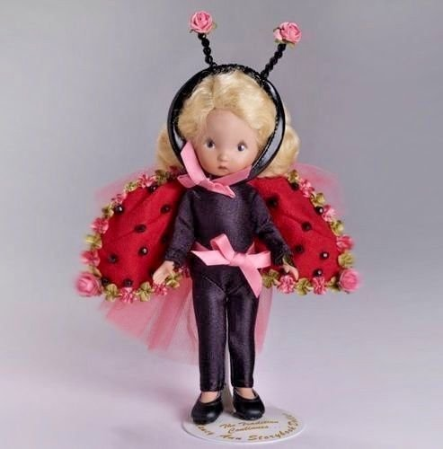 Ladybug Nancy Ann Storybook Doll 6