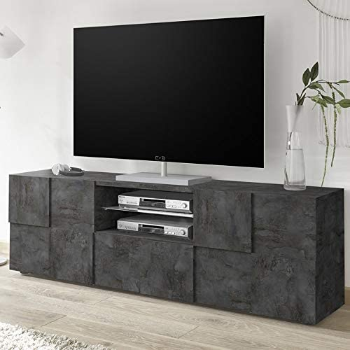 Kasalinea Dominos 5 - Mueble para televisor (180 cm), Color Gris ...