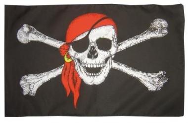 14 opinioni per Nauticalia- Bandiera dei pirati con teschio + bandana, 92 x 153 cm