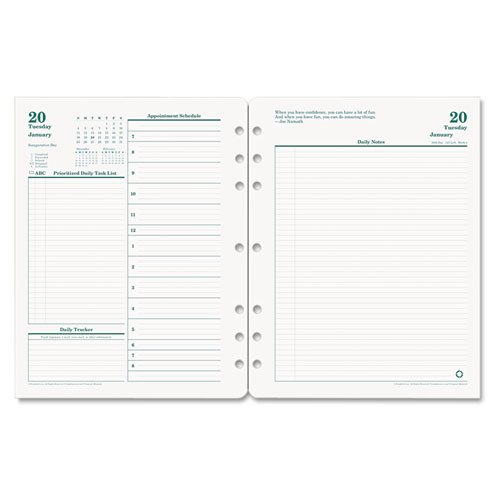Franklin Original Full Year Daily Planning Pages