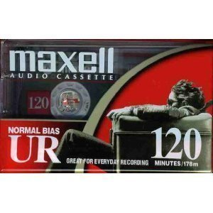Maxell UR 120 - Cassettes- Normal BIAS - Box of 10 Cassettes by Maxell