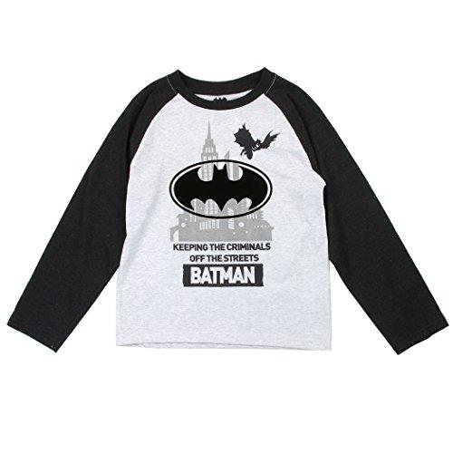 Batman+Shirts Products : Batman Toddler Little Boys Criminals Off the Streets Long Sleeve Shirt