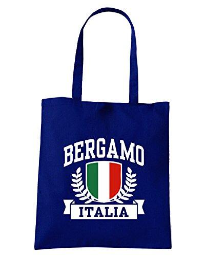 T-Shirtshock - Bolsa para la compra TSTEM0103 bergamo italia tshirt Azul Marino