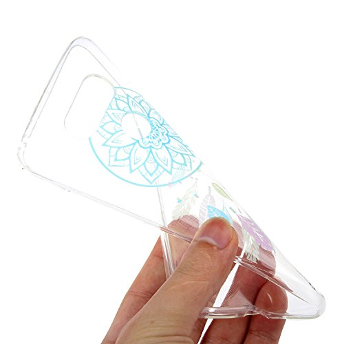 OuDu Funda para LG G5 Carcasa Protectora Caso Silicona TPU Funda Suave Soft Silicone Case Cover Bumper Funda Ultra Delgado Carcasa Flexible Ligero Caja Anti Rasguños Casco Anti Choque - Atrapasueños
