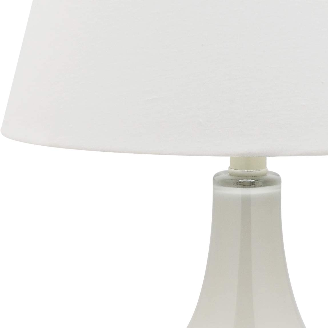 Safavieh Lighting Collection Amy Gourd Glass Table Lamp Light Grey