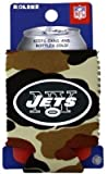 NEW YORK JETS CAMO CAN KADDY KOOZIE COOZIE COOLER For Sale
