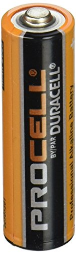 Duracell Procell Alkaline Batteries, AA, 24/Box, Total 14...