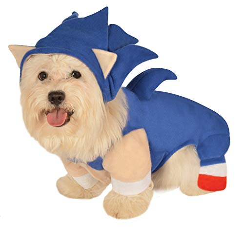 Sonic The Hedgehog Pet Costume, Large -