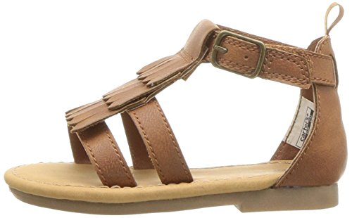 Carter's Girls' Chary Fashion Sandal, Brown, 9 M US Toddler by Carter's (Image #5)