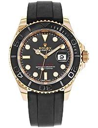 Yacht-Master 40 Everose Gold Ceramic Bezel Rubber Strap 116655