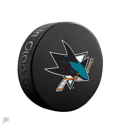 fan products of San Jose Sharks Basic Collectors Official NHL Hockey Game Puck