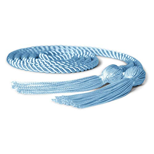 Single Graduation Honor Cord (Light Blue)