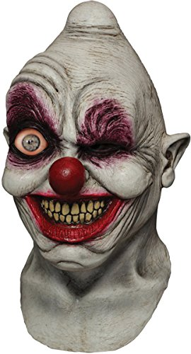 Mask Digital Dudz Clown Crazy Eye (Crazy Masks For Sale)