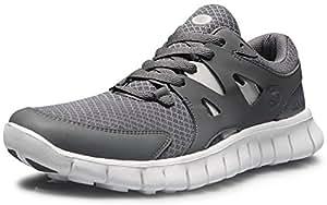 CLSL TF-E630-DGR_285 Men 10.5 D(M) Tesla Men's Lightweight Sports Running Shoe E621 / E630 ( Recommend 1 size up)