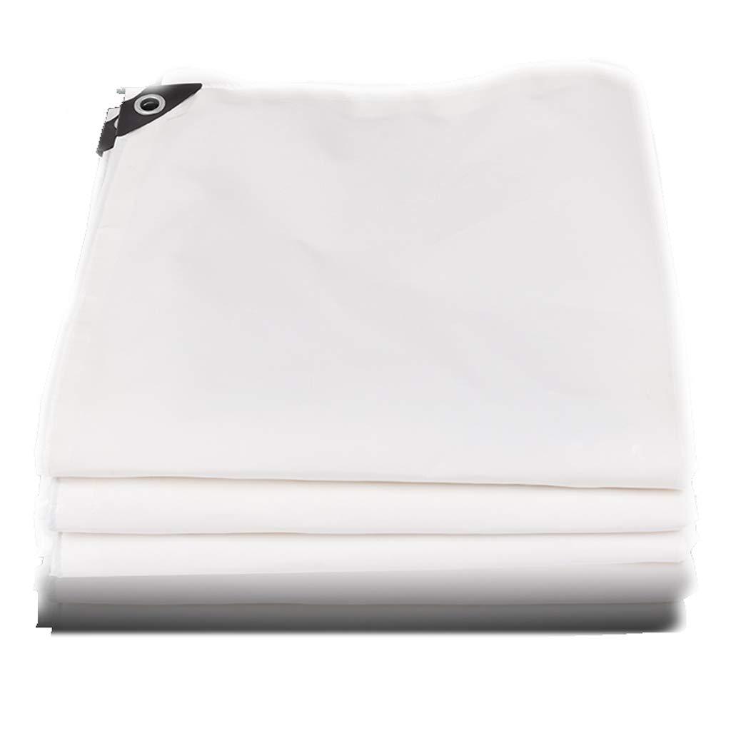 3×4m Thicken Tarpaulin Waterproof Poncho Acid Proof AntiAging UV Resistant AntiFreeze Greenhouse Insulation Rainproof Cloth Camping Family 0.45mm