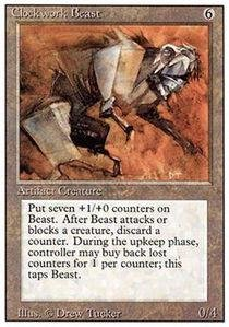 Magic: the Gathering - Clockwork Beast - Revised Edition