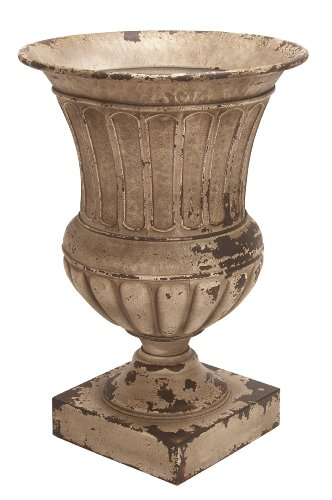Deco 79 Metal Planter Vase Patio Accents, 26 by 18-Inch ()