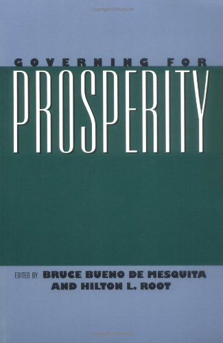 Book cover from Governing for Prosperityby Bruce Bueno de Mesquita