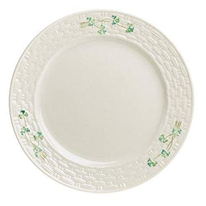 Belleek Irish Pottery 10.5\u0026quot; Dinner Plate Set of 4 with Hand Pained Shamrock Detail  sc 1 st  Amazon.com & Amazon.com | Belleek Irish Pottery 10.5"|425|425|?|211d675e0596d690b1d8a64aaeeae544|False|UNLIKELY|0.3556923568248749