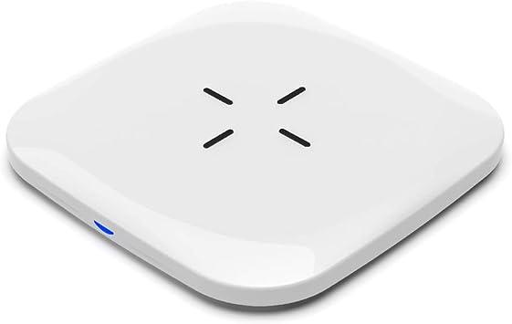 LTDNB Cargador Inalámbrico 10W Qi Wireless Carga Rápida Quick Charger Compatible con iPhone X / 8 Plus/iPhone XS/XS MAX/XR, Samsung S10 /S10e /Note9 /S9 / S8 Plus /S8-Blanco: Amazon.es: Electrónica
