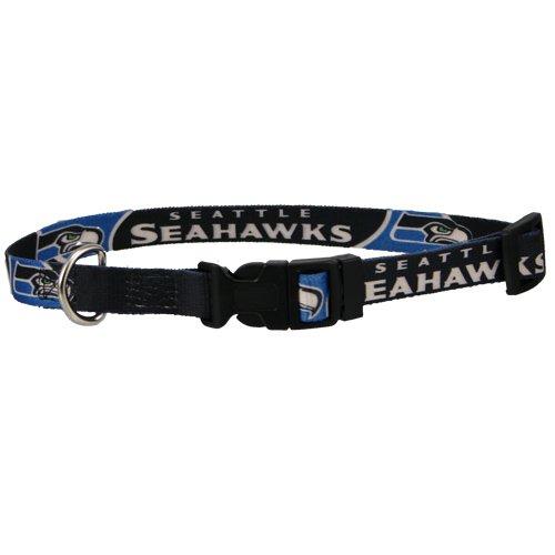 seattle-seahawks-navy-adjustable-dog-collar-large