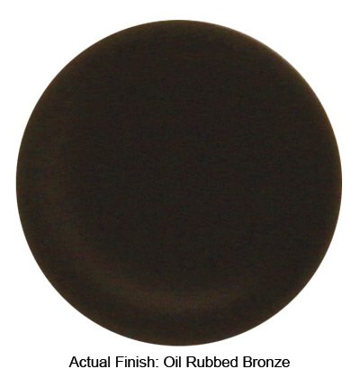 Westbrass D128-12 5/8-Inch OD Low Pattern Sure Grip Flange, Oil Rubbed Bronze