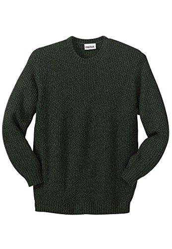 KingSize Big Tall Shaker Sweater