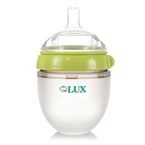LUX Nature Baby Newborn Bottle | Anti Colic Infant Bottle |