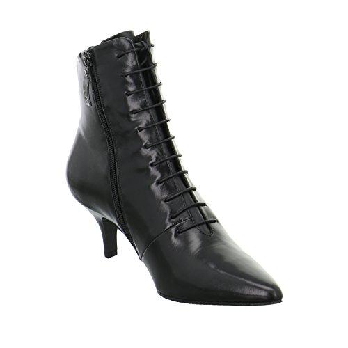 GERRY WEBER G39506-mi90100 - Botas de Piel para mujer negro